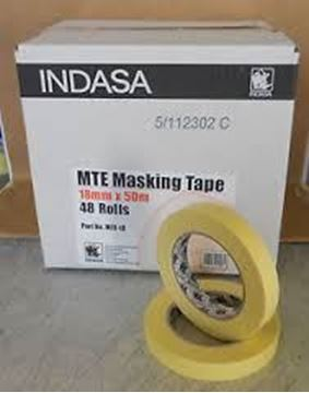 Picture of Masking Tape 19mm Carton 48 rolls