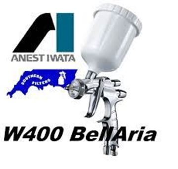 Picture of Iwata Gravity Feed Spraygun W400 BellAria